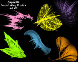 A3D Fractal Wings Set 8 PSP by angela3d