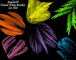 A3D Fractal Wings Set 10 PSP by angela3d