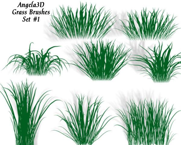 A3D Grass Brushes