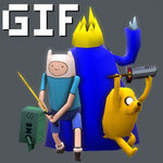 Adventure Time Low Poly