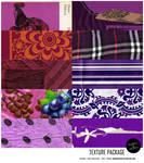 Texture Pack 01: purple [10 HI RES. scans]