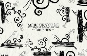 Brushset 05: swirls by mercurycode