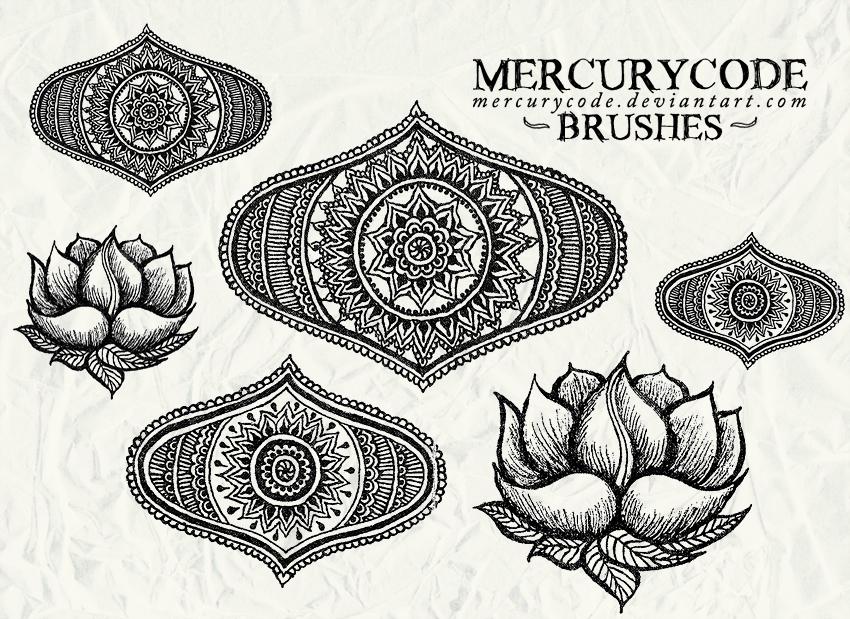 Brushset 06: oriental by mercurycode
