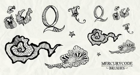 Brushset 07: doodles