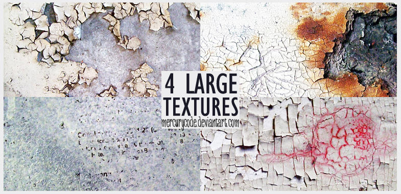 Texture Pack 03: white paint by mercurycode