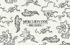 Brushset 09: triangles by mercurycode