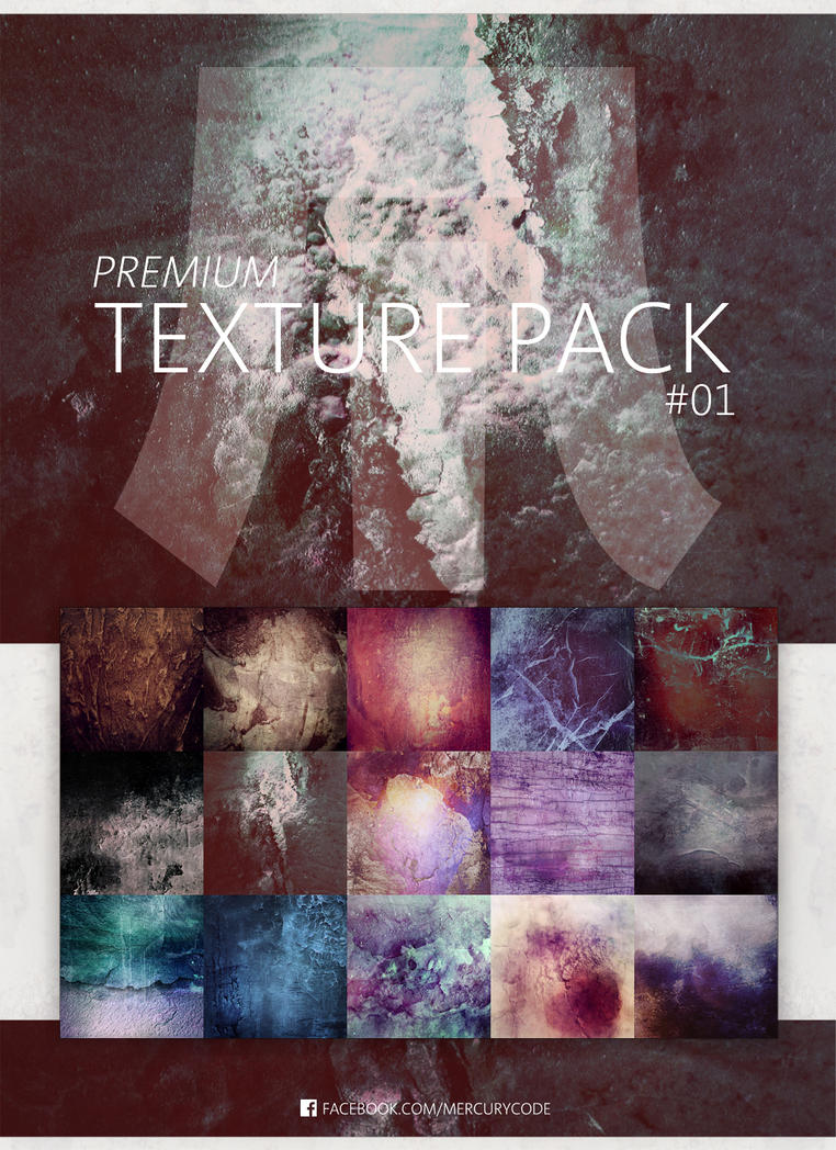 Premium Texture Pack #01   Dreamy Squares by mercurycode
