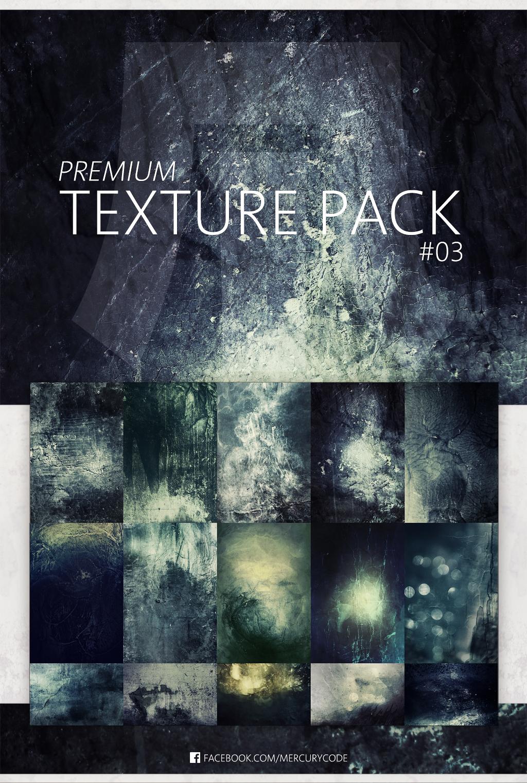 Premium Texture Pack #03   Dark Aquamarine by mercurycode