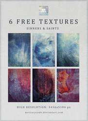 6 Free Textures: Sinners + Saints