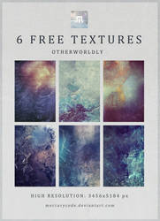 6 Free Textures: Otherworldly by mercurycode