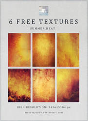 6 Free Textures: Summer Heat by mercurycode