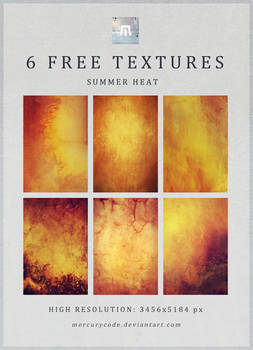 6 Free Textures: Summer Heat