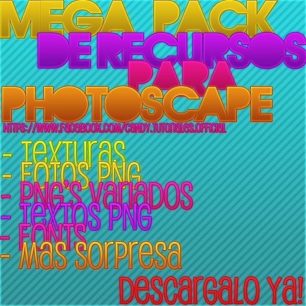 Mega Pack De Recursos Para PhotoScape by CandePhotoScape