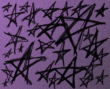 Scribble Stars by batness