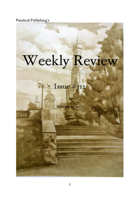 Fanatical Publishing's WEEKLY REVIEW, Issue 112 by FanaticalPublishing