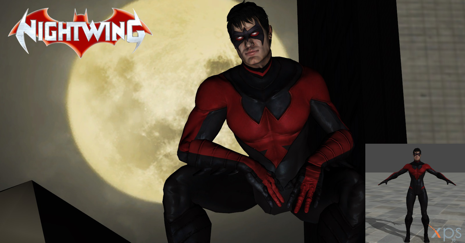 New 52- Nightwing Costume #2 by lonelygoer on DeviantArt