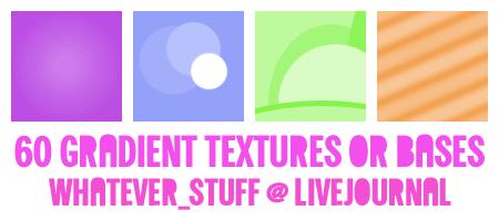60 icon gradient textures by whatever-freak