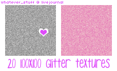 20 Simple Glitter IconTextures by whatever-freak