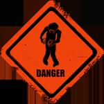 Zombie Alert by TonyVallad