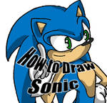 -How to Draw Sonic-