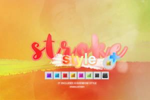 Stroke - Style by SparklyStorm