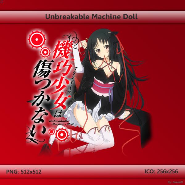anime like unbreakable machine doll
