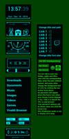 Fallout Rainmeter 1.3