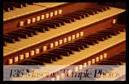 Masonic Temple Stock
