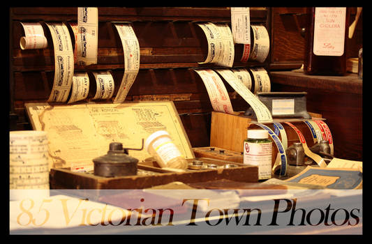 Victorian Town Stock