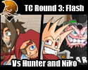 TC Round 3: Vs Hunter and Niko by Zeurel