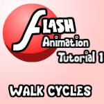Flash Tutorial 1 Walk Cycles by Zeurel