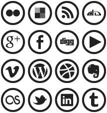 WP7 Metro Social Media Icons by blnkdsgn