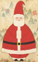 Vector Santa by blnkdsgn