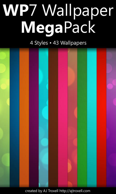 WP7 Wallpaper Megapack by blnkdsgn