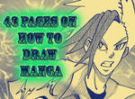 43 pages on how to draw manga