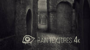 Rain Textures 4k