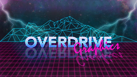 Overdrive Graphics - Cyberpunk Logo by Overdrive-Graphics