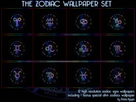 The Zodiac Wallpaper Set