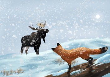 The first snowfall by Jdriscoll20