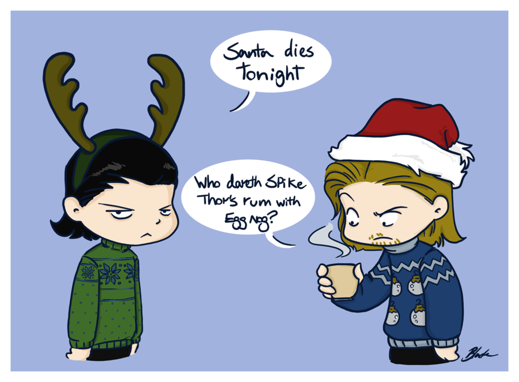 Loki X Reader: Christmas and Mischief (One-Shot) by Mind-Wolf on