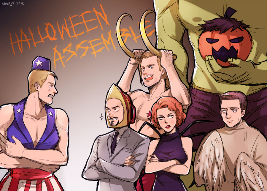 Avengers X Reader: Trick or Treat? (One-Shot!) by Mind-Wolf
