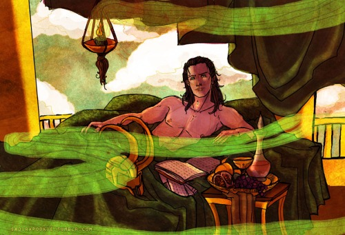Loki X Reader Norse Lullaby One Shot By Mind Wolf On