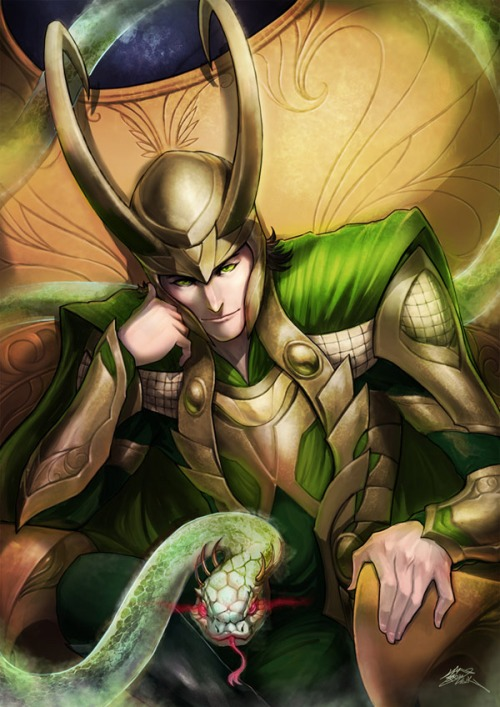 Loki X Reader: Magic Lessons (One-Shot!) by Mind-Wolf on