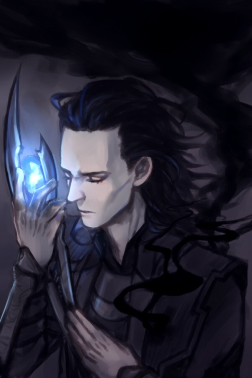 Loki X Suicidal!Reader: Broken (One-Shot!) by Mind-Wolf on