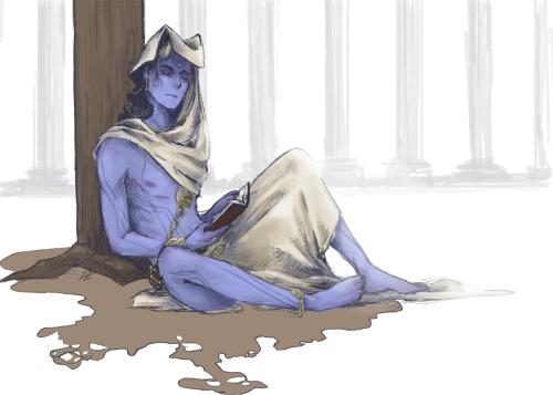 Jotun!Loki X Reader: Man in the forest (One-Shot!) by Mind