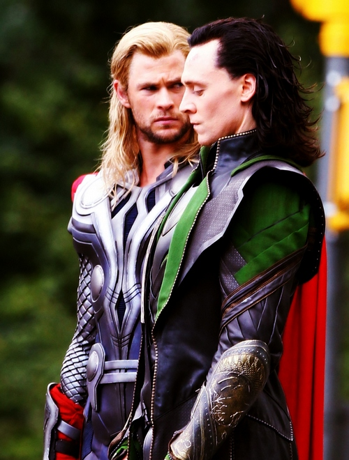 Loki and Thor X Reader: Stay Away (One-Shot!) by Mind-Wolf