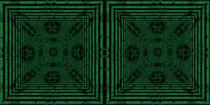 Crosseye Ascii Kaleidoscope