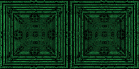 Crosseye Ascii Kaleidoscope by fence-post