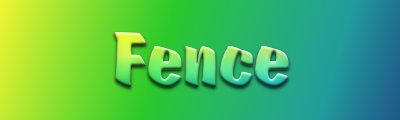Glowing Blended Text Script by fence-post