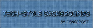 Tech-Style Background in GIMP